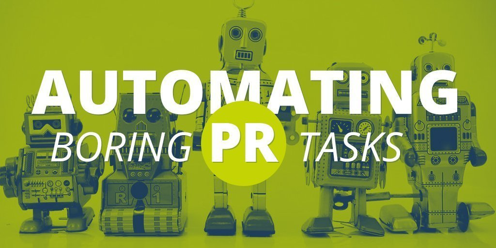 Automating boring PR tasks